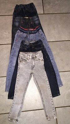 Boys Clothes Bundle Age 3-4 years 100% NEXT  🕶🌴jeans Skinny Straight Cut