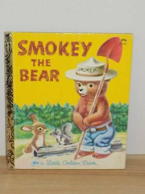 Smokey the Bear Little Golden Book