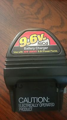 (J10) New Bright 9.6V Ni-Cd Battery Charger A578201262 Charger Only - Used