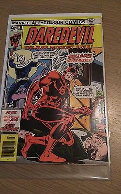 Daredevil #131 Marvel Bronze Age Comics 1st appearance of Bullseye Netflix