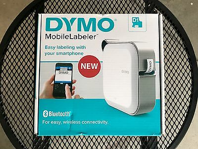 DYMO MobileLabeler Bluetooth iOS/Android Label Printer 1982171 - Used once!