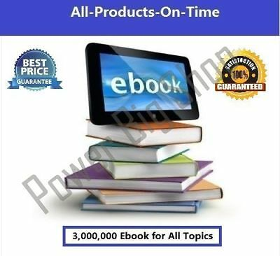 3,000,000+ PLR eBooks Collection and Articles with Master Resell Right Books PDF