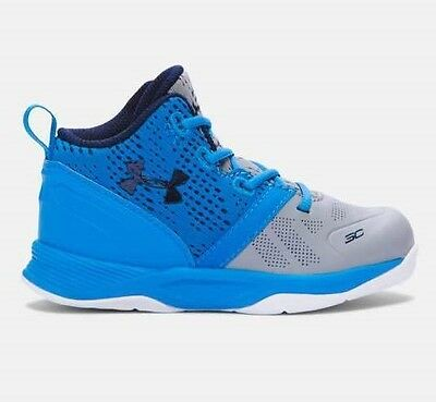 NEW Boy's Toddler Steph Curry Under Armour Shoes CURRY 2 1286153-035 Infant Kids