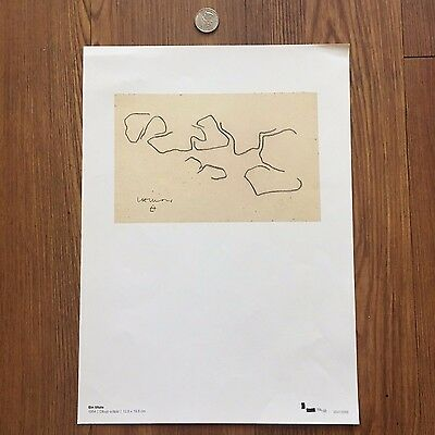 Limited Edition Lithograph signed by  Eduardo Chillida
