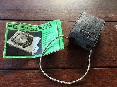 CP Prix Color Light Meter