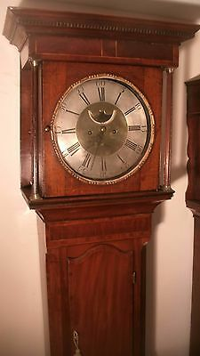"Antique Oak/mahogany "" Glosop ""  8 Day   Longcase / Grandfather Clock"
