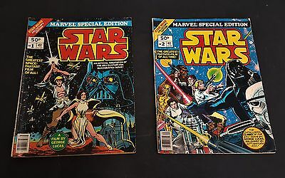 Star Wars special editions 1 & 2