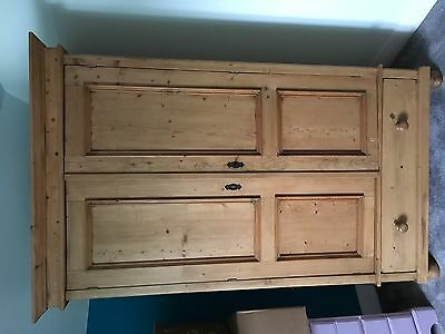 Beautiful Antique large wardrobe with bottom draw