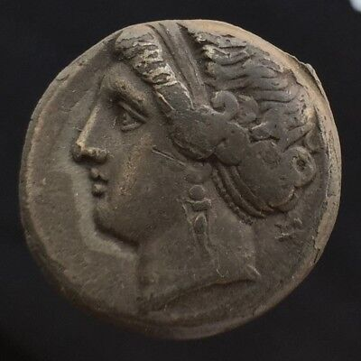 Neapolis Campania Silver Nomos Didrachm Stater 275-250 BCE Authentic Ancient