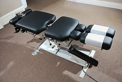 Zenith Cox model 95 Flexion Table with Thoracic Drop and Power Balance
