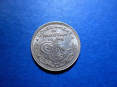 Pakistan 1/4 Rupee 1948 High Grade About Uncirculated (FREE shipping)