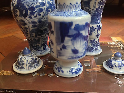 RARE KANGXI PERIOD VASES, late 17th. CHRISTIE'S w/AUCTION CATALOGUE.