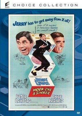 Hook Line & Sinker DVD 1969 Jerry Lewis