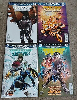 DC Rebirth - Justice League of America - Issues 5, 6, 7 & 8