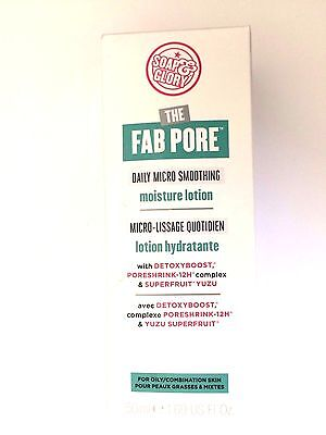 SOAP And GLORY The Fab Pore Daily Micro Smoothing Moisture Lotion 50ml Oily Skin