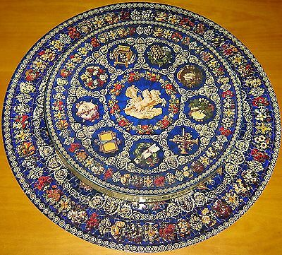 VINTAGE 1969 RARE Springbok The Table of Muses Circular Round Puzzle 500