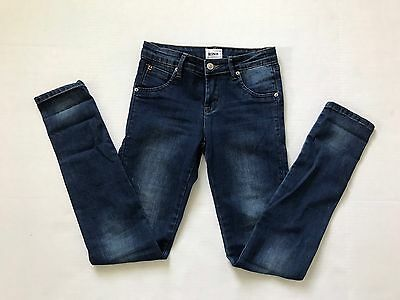 Hudson Girls Jeans Skinny Stretch Denim Flap Pockets Sz 16