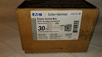 NIB - Eaton Cutler-Hammer CHU44S 30 Amp RV Power Outlet Receptacle