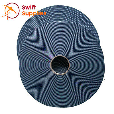Self Adhesive PVC Foam Weather Stripping Sealing Tape - 6.4mm x 24mm x 30 Metres