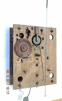 Wooden Works Clock Movement Eli Terry Style