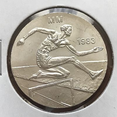 1983 Finland 50 Markkaa Silver World foreign coin Excellent condition high value