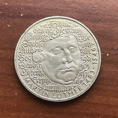 1983 G Germany 5 Mark World foreign coin Excellent Condition