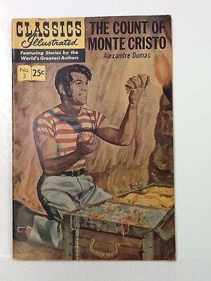 Classics Illustrated The Count of Monte Cristo #3 1968 Very Nice, VF- 7.5