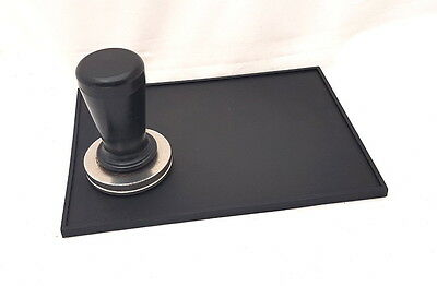 Coffee Tamper Mat, rubber 20cm by 14.5cm