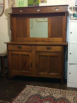 antique sideboard Arts & Crafts Habdmade Circa 1920