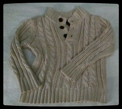 Old Navy 4T Cream pullover sweater