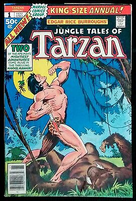 Jungle Tales of Tarzan Annual #1 (1977, Marvel)