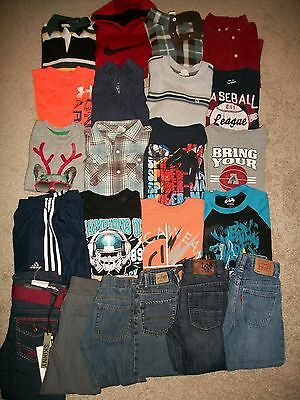 Lot Of 22 Boys Size 5 5T Fall Winter Namebrand Nike Gymboree Old Navy Guc!