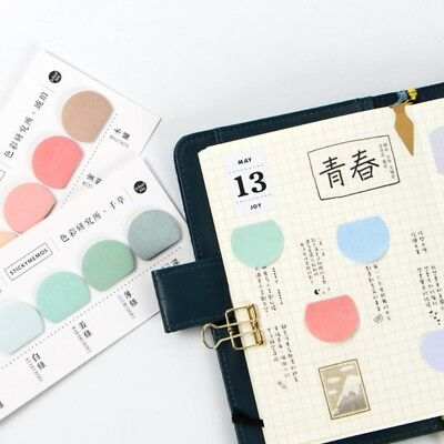 100pcs Mini Paper N Times Sticky Notes Index Tag Memo Pad Label Tag Bookmark Stickers Sign Planner Message Stationery Supplies Notebooks & Writing Pads Memo Pads