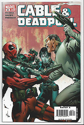 Cable & Deadpool #28 Nm+ 9.6