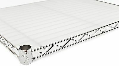 "18"" x 48"" Opaque Wire Shelf Liners - 4 Pack"