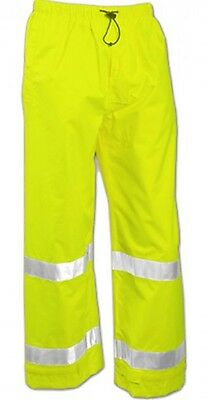 Tingley Class E High Visibility Reflective Pants Yellow/Green Waterproof 4X NWT