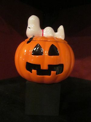 Snoopy Halloween Ceramic candy container