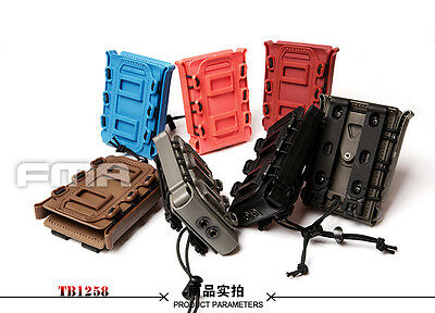 FMA 7.62 Fast Mag Pouch Carrier Tactical Airsoft Soft Shell Scorpion Mag TB1258