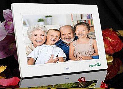 """Digital Photo Frame 7"""" HD Video Player Digital Picture Frame with Music Calendar"""
