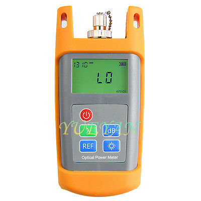 Fiber Optical Multimeter -70~+10dBm Fiber Optical Power Meter FC/SC Connector