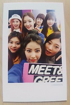 Dia D.I.A Spell MR POTTER Mwave exclusive photo card (in polaroid style) rare