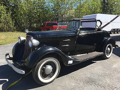 1934 Plymouth PE Deluxe Convertible Coupe  1934 Plymouth PE Deluxe Convertible Coupe