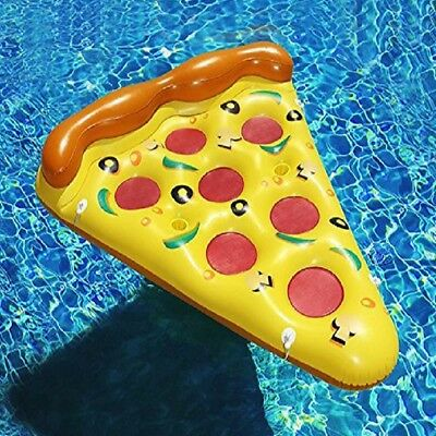 Giant Inflatable Boat Pizza Flamingo Pool Float Raft for the Lake/Beach/Pool