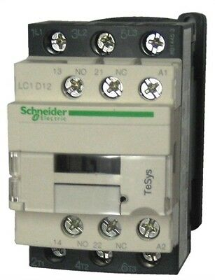 Schneider Electric TeSys Offer (LC1D12U7) 3Pole Contactor ; 5.5kW ; 240V AC Coil