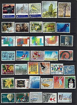 Switzerland Collection Of Various Stamps