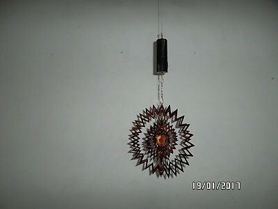 Large Beautiful brown splash wind spinner MOTOR INCLUDED