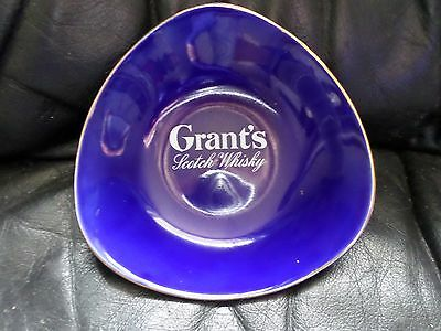 Collectable Grants Scotch Whisky ceramic nut sweet dish barware