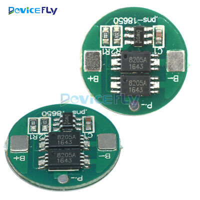 1/5/10PCSDual MOS Battery Protection Board for 18650 Lithium Battery