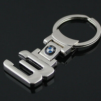 For BMW 3 Series Style Keyring Metal Car Logo Key Ring Key Chain Keyfob Genuine
