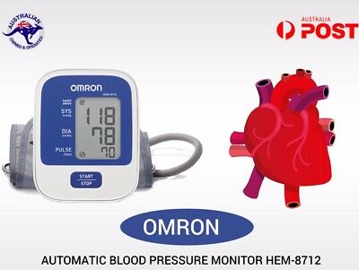 Omron HEM 8712 upper Arm Bp Blood Pressure Monitor cuff 22cm to 32cm Automatic